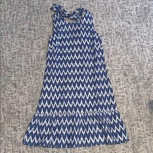 JCrew dress with tie back